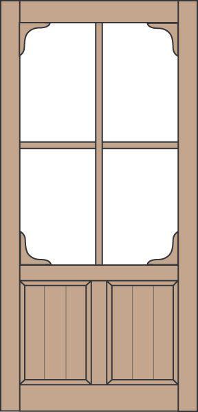 Coppa Woodworking Wood Screen Doors and Wood Storm Doors - Doors