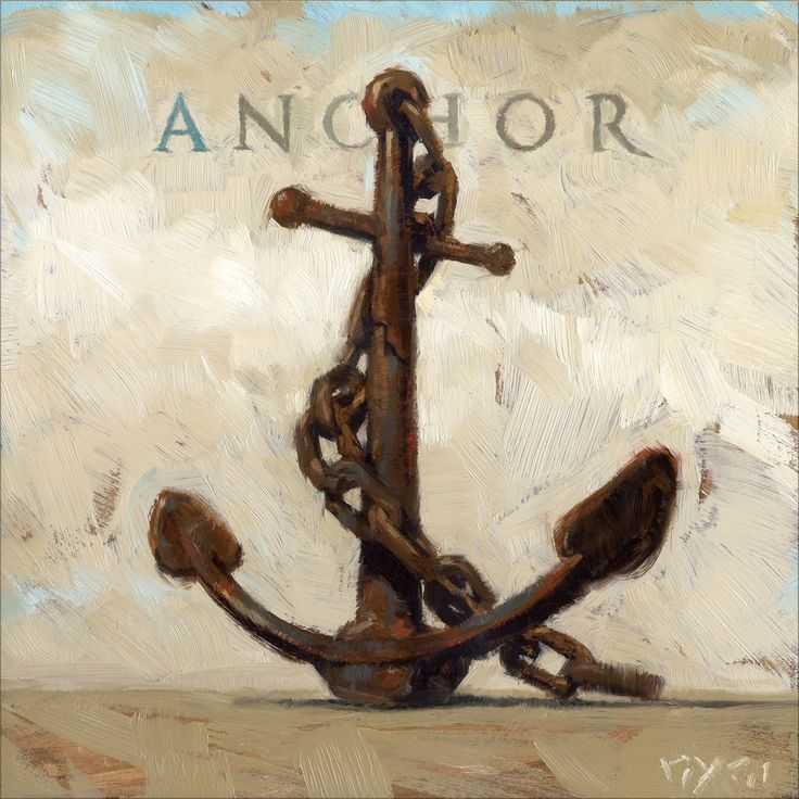 Artist: Unknown Title: Amberton Publishing Ship Anchor Product type: Gallery-wrapped canvas art