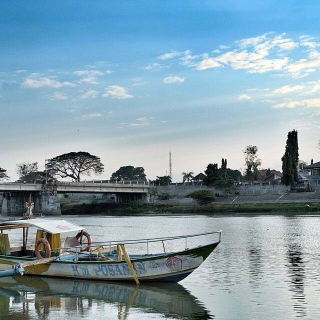 Dermaga Sungai Brantas - Kediri