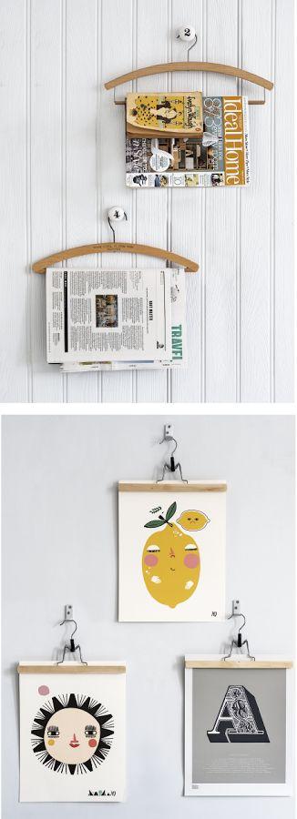 Kei Gemakkelijk | tekeningen en kaarten ophangen | Huisjekijken