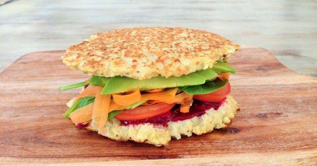Cauliflower burger bun from Foodness
