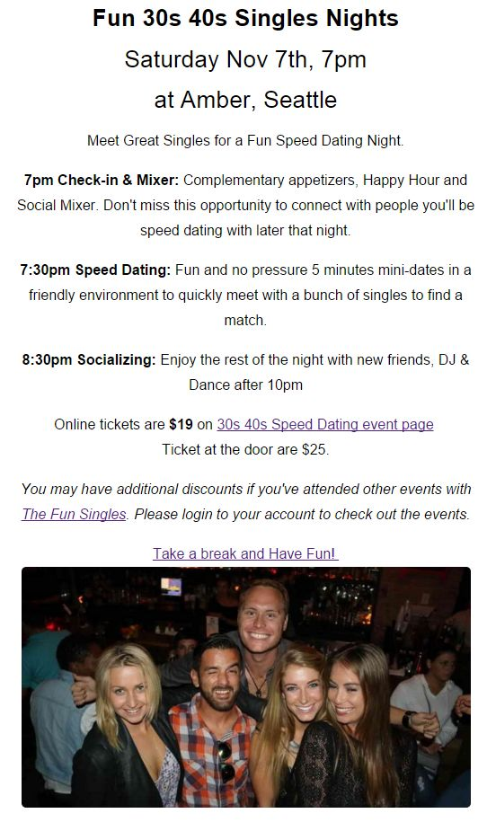speed dating chester