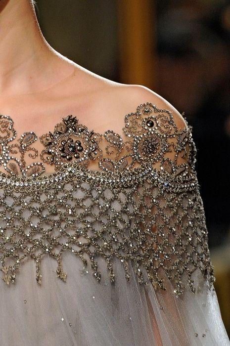 Бисерная вышивка платье