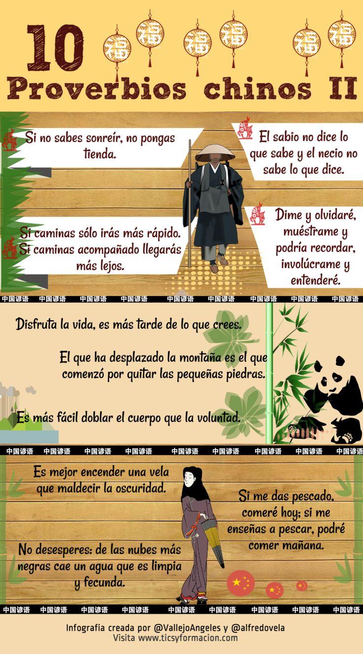 10 proverbios chinos (II) #infografia #infographic #citas #quotes