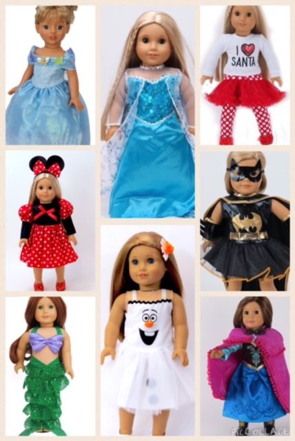 86 best American Girl Doll Clothes images on Pinterest | Muñeca de ...