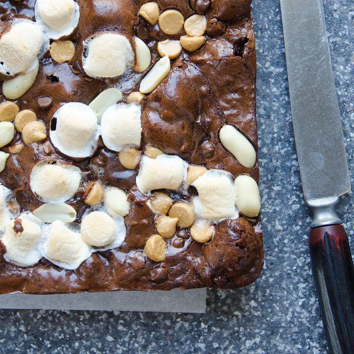 fluffer nutter brownies   Garlic + Zest