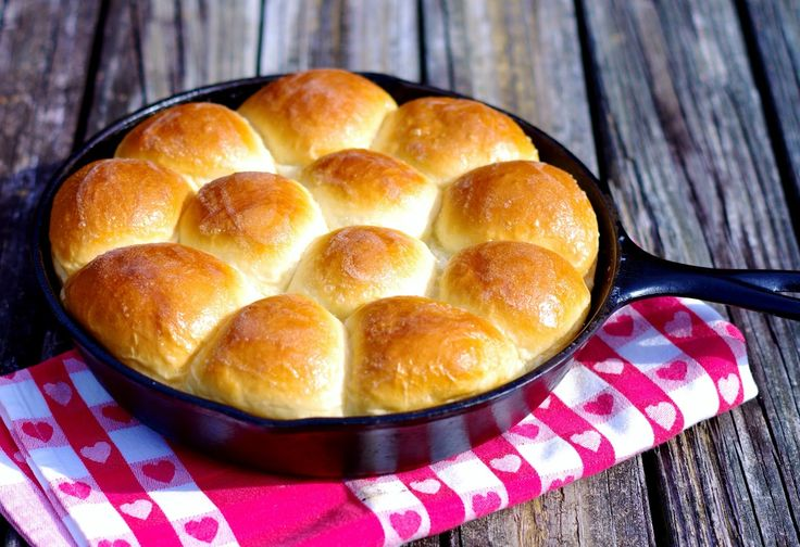 How to make Parker House rolls in your cast iron skillet.