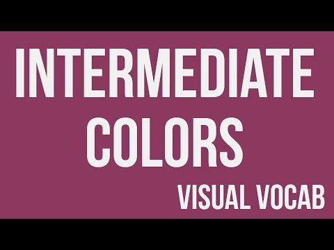 Intermediate Colors defined - From Goodbye-Art Academy - YouTube