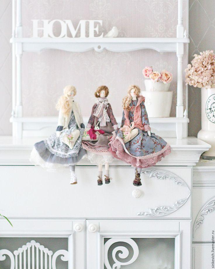 Купить Winter story - белый, тильда, кукла ручной работы, кукла, кукла в подарок