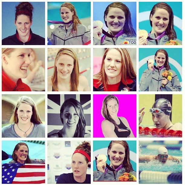 Missy Franklin is my role model.  It's great to see someone my size embracing it and loving it!