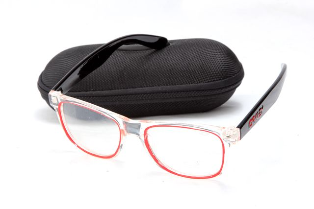 Oakley Frogskins Black Frame Clear Lens AAA Sunglasses sale cheap. Our Oakley  Sunglasses Outlet Store