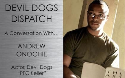 Podcast: A Conversation with Devil Dogs Actor Andrew Onochie #devildogs #war #military #movies #shortfilm #indiefilm #film #fallujah #iraqwar #podcast #cast #actor