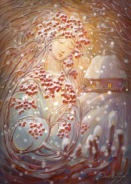 Ukrainian artist. Олег Шупляк  - Сон Калини  / Oleg Shuplyak - Sleep Guelder Rose.