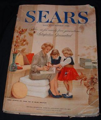 Remember the BIG catalogs?  1960s