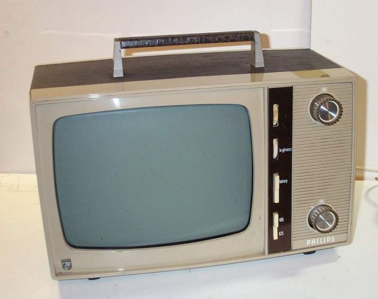 Vintage 1960s SONY Black & White Portable TV & Digital to ...  |1960s Portable Televisions