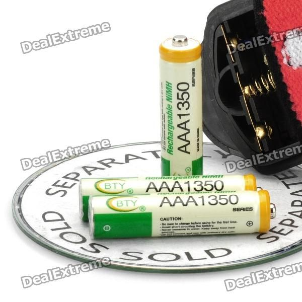 Zooming Q5 160LM 2-Mode 1-LED White Light Headlamp (3*AAA/3.6-4.5V)
