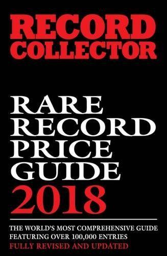 Rare Record Price Guide 2018 Paperback October 3 2016 Vinyl Frontier Music Rare Records Cds Posters Memorabilia Rare Records Price Guide New Books