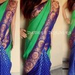 Varuni Gopen Collection New Arrival Kota Work saree 2014 For Women