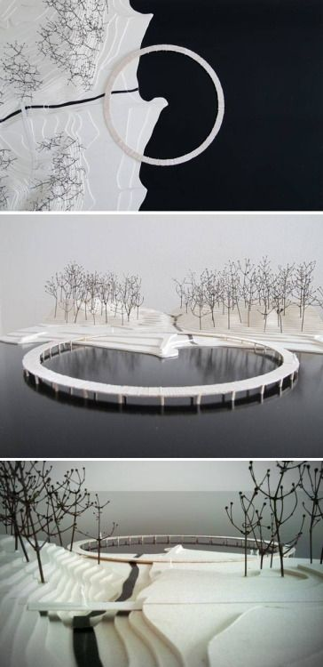 infinity bridge by Gjøde & Povlsgaard Arkitekter in Aarhus, Denmark. - makes us wonder how Has The Infinite Bridge Changed How we Experience Space?