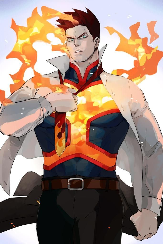 Endeavor Enji Todoroki Boku No Hero Academia Bnha Mha My Hero