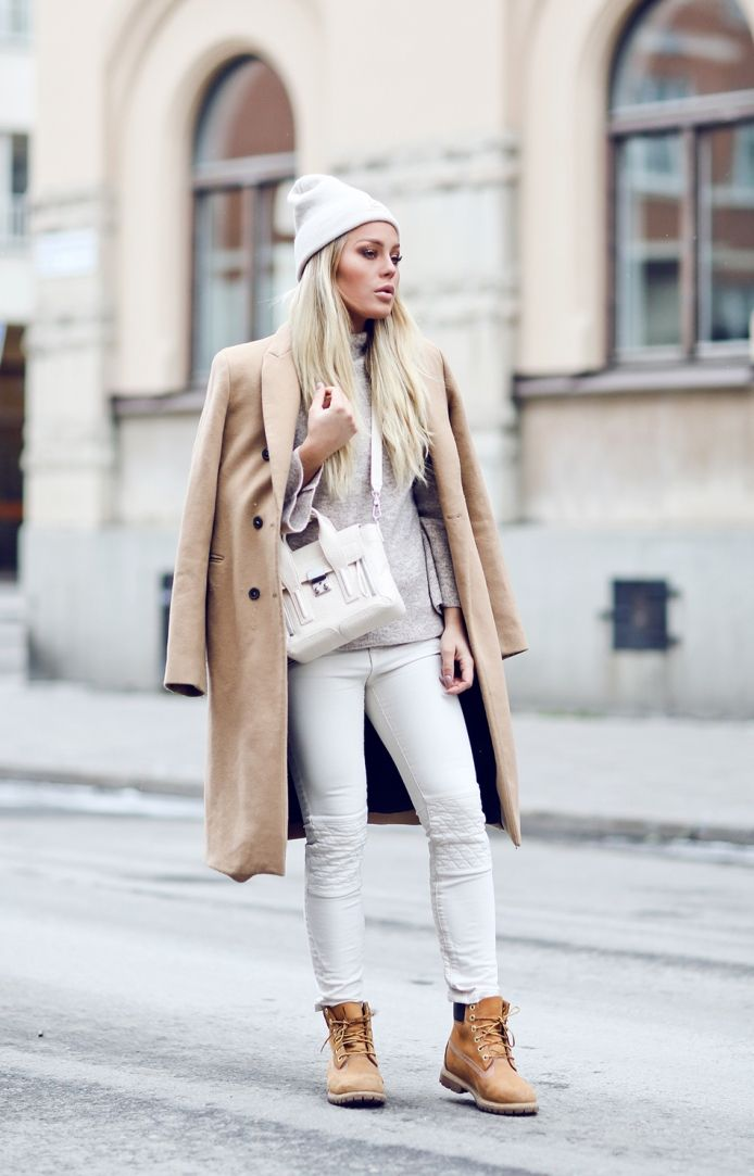 nice Модные ботинки тимберленды женские (50 фото) — С чем носить?