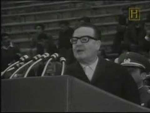 La última decisión de Salvador Allende.  (En Honor a Salvador Allende Presidente Constitucional de Chile)