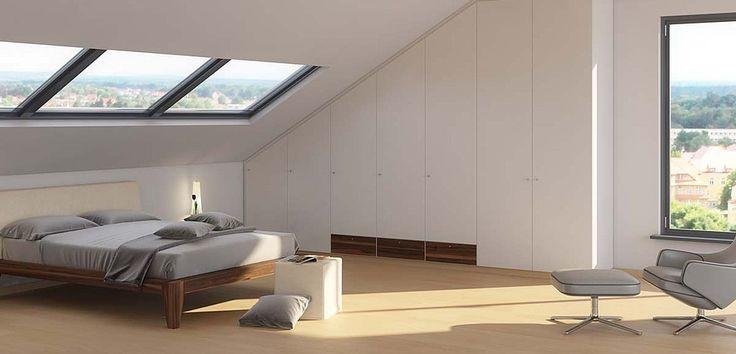 Schränke und Regale für Dachschrägen individuell planen