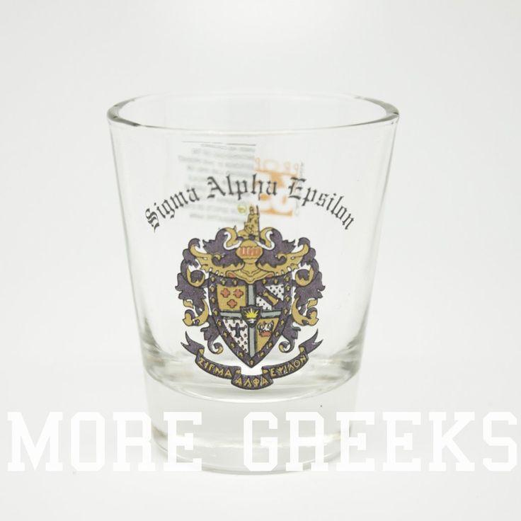 Sigma Alpha Epsilon Shot Glass