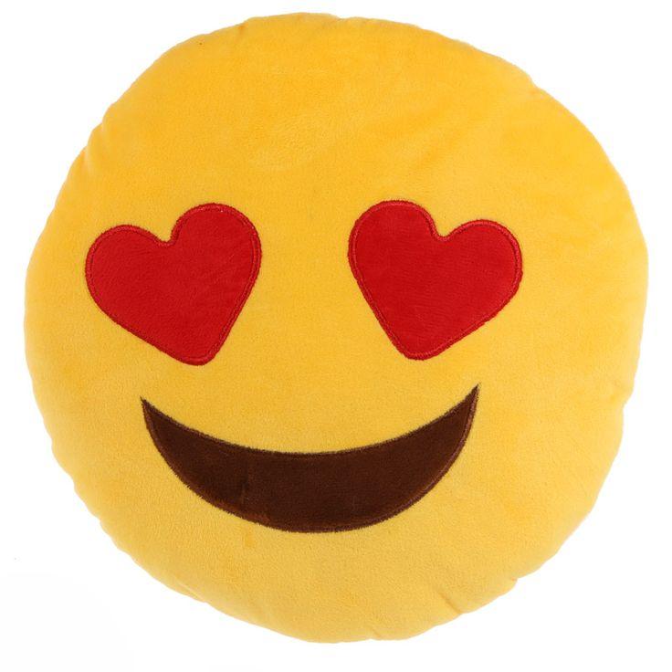 Heart Eyes Emotive Cushion