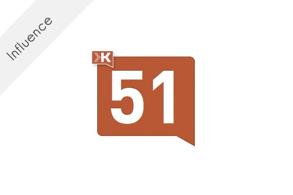 A tiny bit of Klout