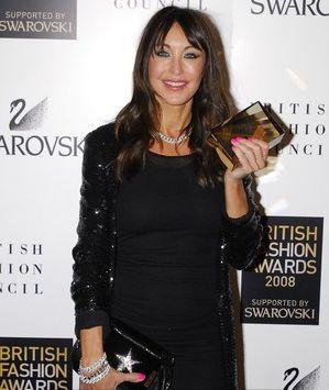 Tamara Mellon with the British Fashion Award