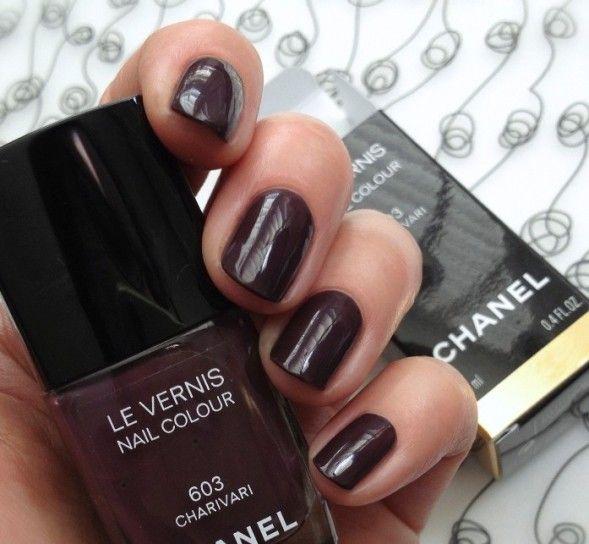 Charivari, swatch smalto Chanel 2014