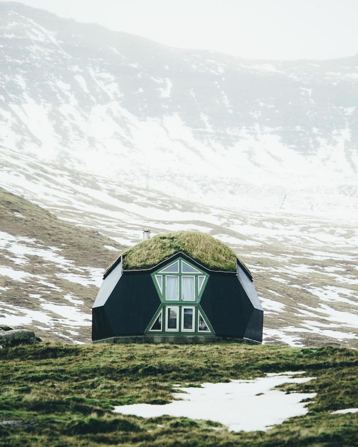 The Kvivik Igloo on the Faroe Islands. Yes, you can rent this out!