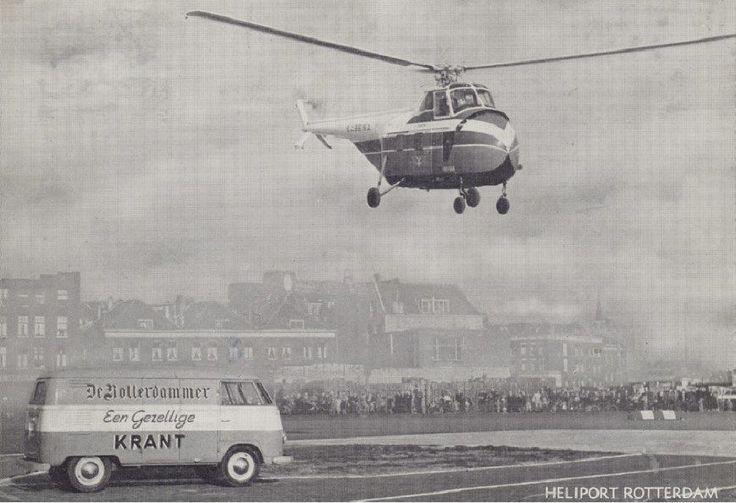Rotterdam: Heliport, 1956
