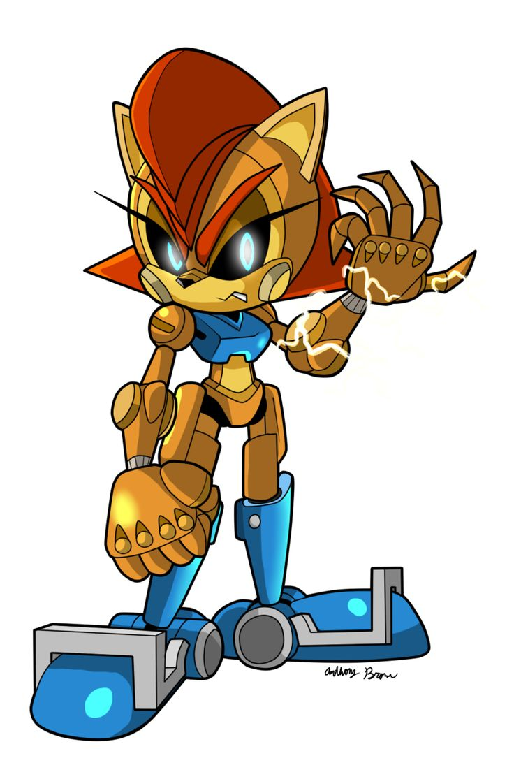 Sally acorn sonic news work pictures to pin on pinterest - Find This Pin And More On Sally Acorn