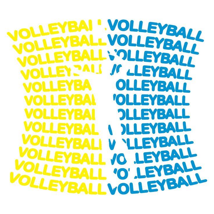 Volleyball Tshirt Short Sleeve All Volleyball
