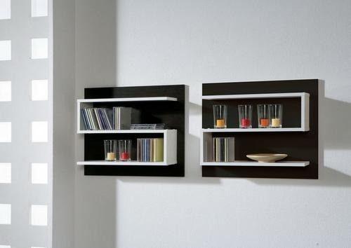 M s de 1000 ideas sobre estantes de pared flotante en for Fabricacion de muebles de melamina gratis