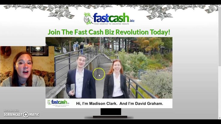 Fast Cash Binary Review   FastCash Biz by Madison Clark and David Graham...