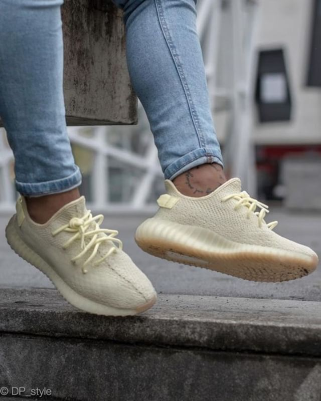 5f4d4bbac5930 Yeezy 350 v2 Butter Yellow #houseofheat #sneakerheads #sneakernews ...