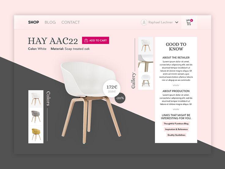 E-Commerce Shop // 012 by Raphael Lechner
