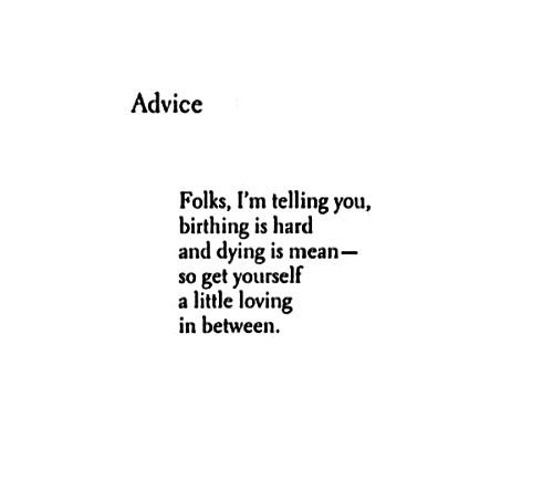Langston Hughes advice