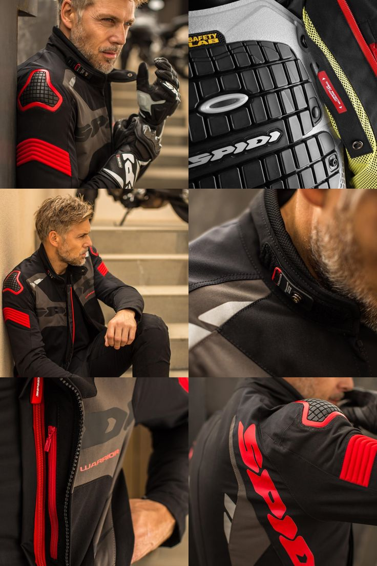 O casaco Spidi Warrior Sport H2Out é impermeável com toda a tecnologia que o munda da competição pode oferecer em termos de segurança.  #Spidi #Warrior #H2Out #Casaco #Jacket #Motorcycle #Motociclismo