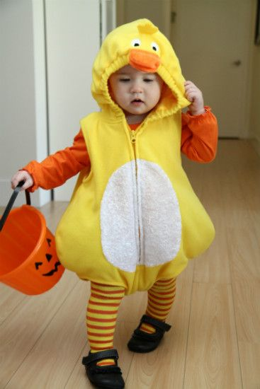Itu0027s really just your basic duck costume purchased in a store but it was so cute  sc 1 st  Pinterest & 15 best Cute Halloween Costumes images on Pinterest | Cute halloween ...