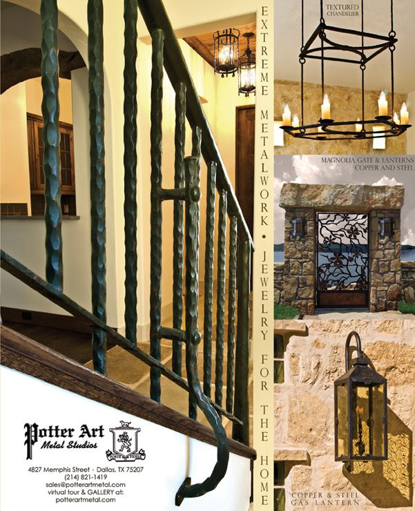 Hammered Rustic Iron Railing Wrought Iron Stair Railing