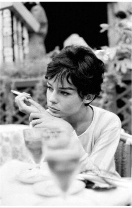 Pascale Petit at the 1958 Venice International Film Festival, photo by Manuel Litran.