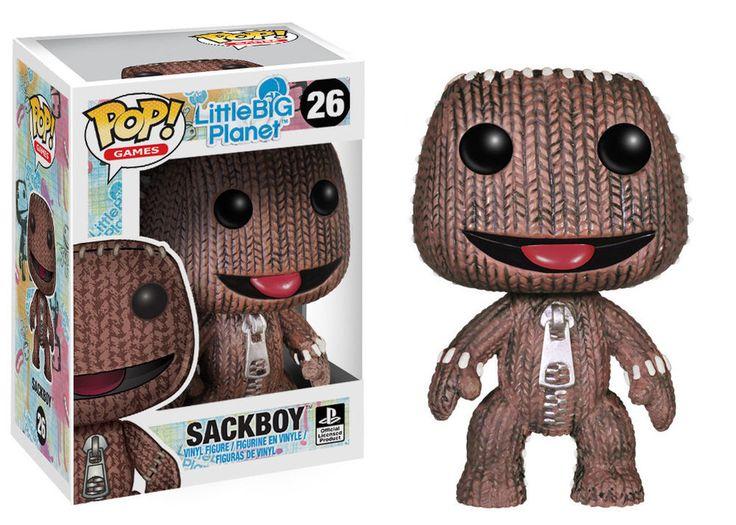 POP! Games LittleBigPlanet Sackboy #26 Vinyl Figure Funko #LittleBigPlanet