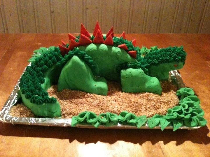 Dinosaur kake