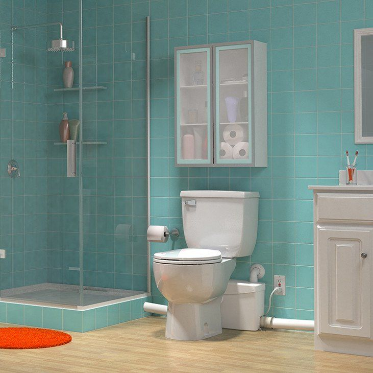 SaniPLUS Upflush Toilet KIT: Macerator Pump + Tank U0026 Bowl