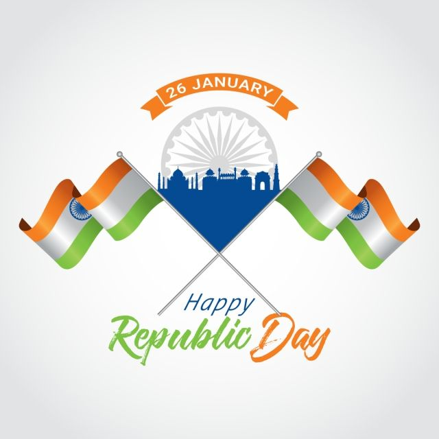 Day India 26 January Indian Background Tricolor Flag Democracy Proud Constitution Culture Na Republic Day Happy Republic Day Wallpaper Independence Day Drawing