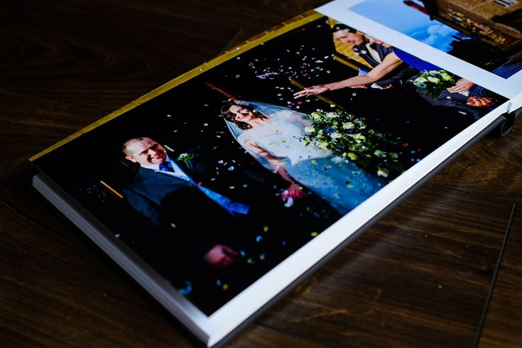 Contemporary wedding albums and designs by Shaun Taylor Photography